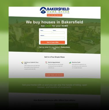 Bakersfield Home Offer